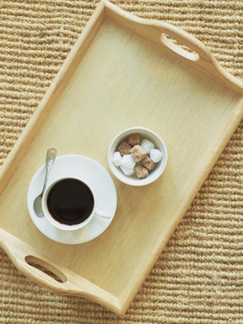 ラウンジで無料で飲めるコーヒーの画像