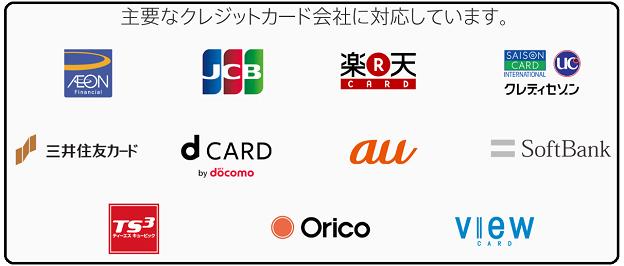 Apple Payに対応している主なクレジットカード会社